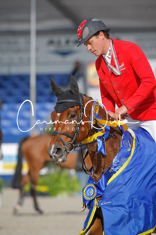 Ahlmann Christian (GER) - Charles 56<br /> Winner Final 6 years old horses<br /> World Championship Young Horses Lanaken 2009<br /> © Hippo Foto - Dirk Caremans