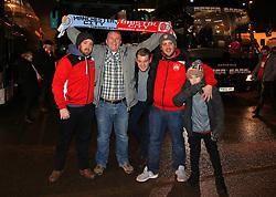 Bristol City fans - Mandatory by-line: Matt McNulty/JMP - 09/01/2018 - FOOTBALL - Etihad Stadium - Manchester, England - Manchester City v Bristol City - Carabao Cup Semi-Final First Leg