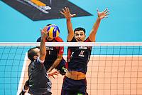 Vladimir NIKOLOV  - 29.01.2015 - Lyon / Ajaccio - 18e journee Ligue A<br /> Photo : Jean Paul Thomas / Icon Sport
