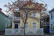 Traditional housing in Charleston, South Carolina, USA.