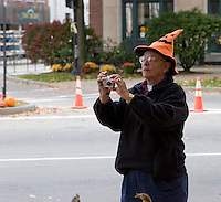 Photographing the Keene Pumpkin Festival