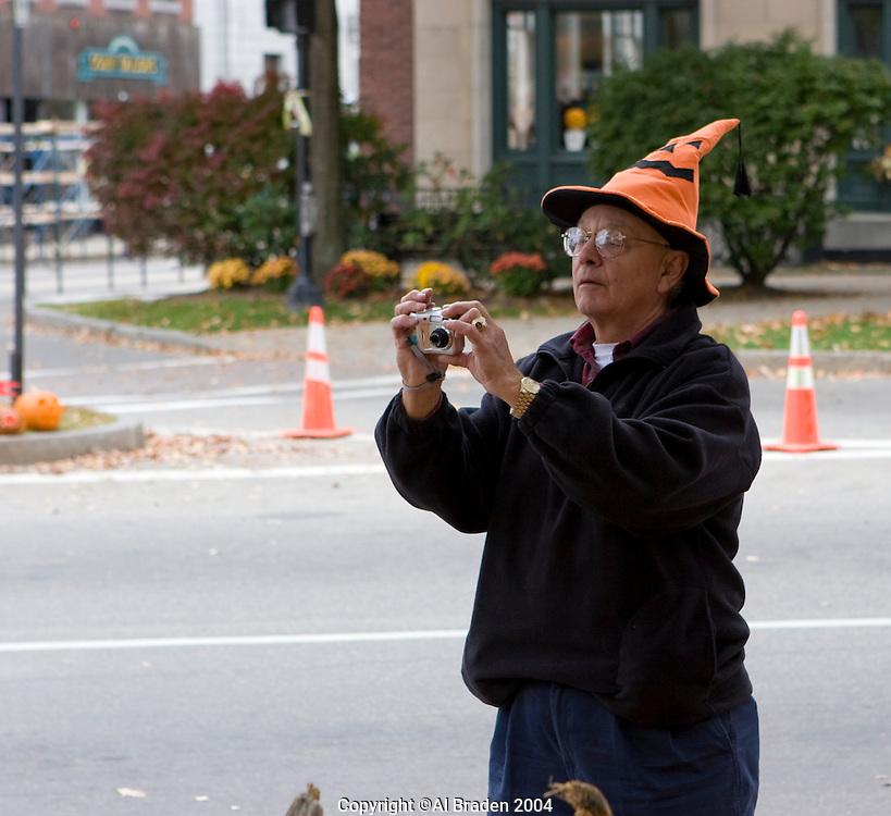 Photographing the Keene Pumpkin Festival