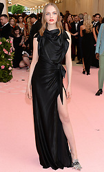 The 2019 Met Gala Celebrating Camp: Notes on Fashion - Arrivals. 06 May 2019 Pictured: Fran Summers. Photo credit: MEGA TheMegaAgency.com +1 888 505 6342