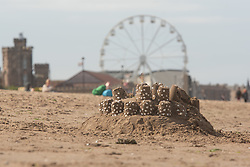 PortobelloBeach this afternoon was dotted with sandcasltes as beachgoers took part in the annual Sandcastle compeition. The competition has been running for the past month, allowing people to socially distance, rather than all gathering on the same day, as happens in normal circumstances.