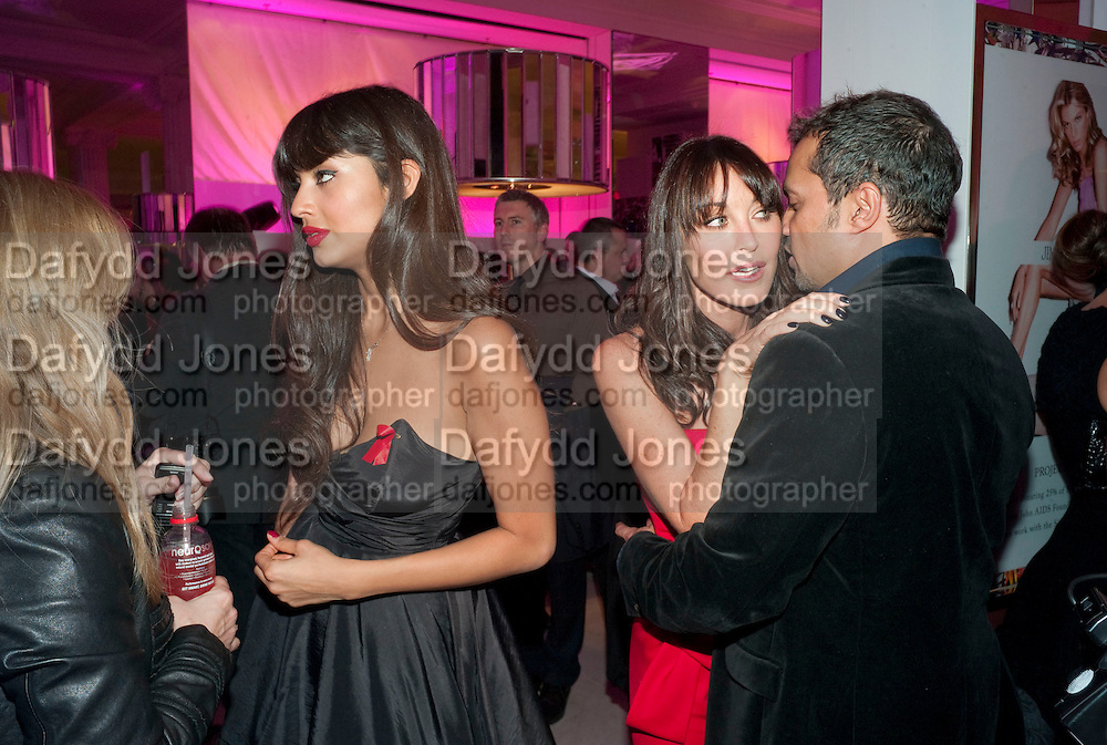 JAMEELA JAMIL; TAMARA MELLON; GERRY DE VAUX; , Project PEP, A new line of Jimmy Choo shoes aimed at raising money for rape victims in South Africa. Devised by Tamara Mellon and the Sir Elton John Aids Foundation. . Wonder Room, Selfridges, 400 Oxford Street, London W1, 8.30-10.30pm