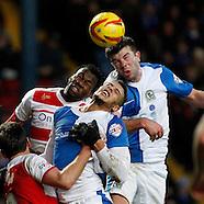 Blackburn Rovers v Doncaster Rovers 110114