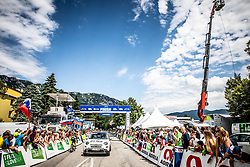 Finish in Ajdovscina during 4th Stage of 26th Tour of Slovenia 2019 cycling race between Nova Gorica and Ajdovscina (153,9 km), on June 22, 2019 in Slovenia. Photo by Vid Ponikvar / Sportida