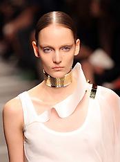 Givenchy show at Paris Fashion Week S/S 2013