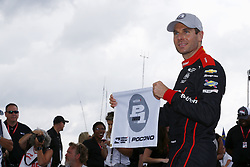 August 18, 2018 - Long Pond, Pennsylvania, United Stated - WILL POWER (12) of Australia wins the pole for the ABC Supply 500 at Pocono Raceway in Long Pond, Pennsylvania. (Credit Image: © Chris Owens Asp Inc/ASP via ZUMA Wire)