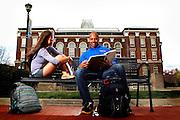 UK students around campus on Monday April 15, 2013 in Lexington, Kentucky.  Photo by Mark Cornelison