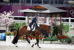 TOKYO - Olympische Spiele / Olympic Games 2021<br /> <br /> PETERS Steffen (USA), Suppenkasper<br /> Grand Prix de Dressage<br /> <br /> Tokio, Equestrian Park<br /> 25. July 2021<br /> © www.sportfotos-lafrentz.de/Stefan Lafrentz