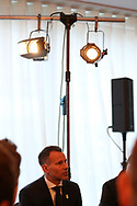 Ryan Giggs , the new Wales manager during the Press conference announcing Ryan Giggs as the new manager of the Wales football team at Hensol Castle in Hensol, near Cardiff , South Wales on Monday 15th January 2018 . pic by Andrew Orchard/Andrew Orchard sports photography