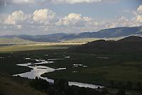 Flat Creek on the National Elk Refuge