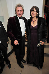 Edward & Lulu Huntley at the Royal Rajasthan Gala 2009 benefiting the Indian Head Injury Foundation held at The Banqueting House, Whitehall, London on 9th November 2009.