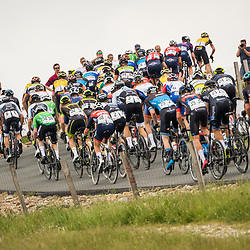 WIJSTER (NED) June 19: <br /> CYCLING <br /> Dutch Nationals Road U23 up and around the Col du VAM<br /> Race imrpession