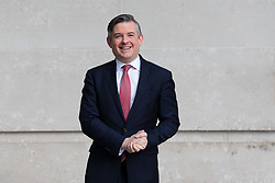 © Licensed to London News Pictures. 06/01/2019. London, UK. Shadow health secretary, Jonathan Ashworth leaving BBC Broadcasting House in London after appearing on the Andrew Marr Show.  Photo credit: Vickie Flores/LNP