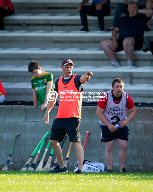 20-07-21. Meath v Down - All-Ireland U-20 B (Richie McElligott Cup) Semi-Final at Clan na Gael, Dundalk.<br /> Peter Durnin, Meath Manager.<br /> Photo: John Quirke / www.quirke.ie<br /> ©John Quirke Photography, 16 Proudstown Road, Navan. Co. Meath. (info@quirke.ie / 046-9028461 / 087-2579454).