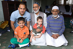 Four generations of male family,