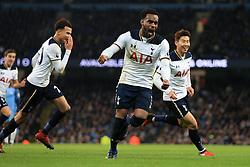 21st January 2017 - Premier League - Manchester City v Tottenham Hotspur - Danny Rose of Spurs celebrates their late equaliser - Photo: Simon Stacpoole / Offside.