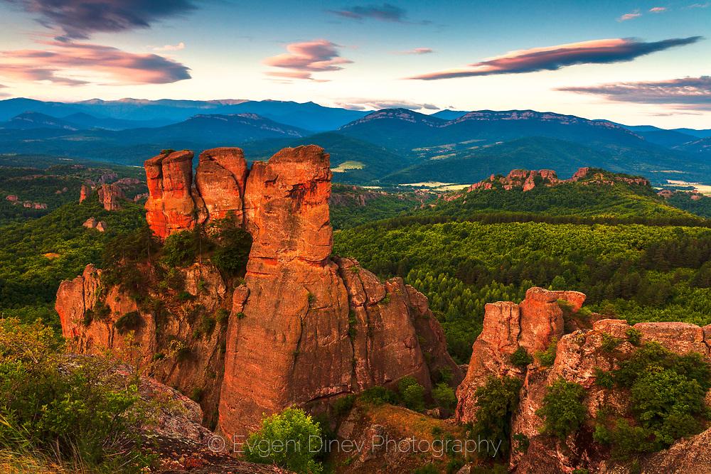 Rock landmark in north-west Bulgaria