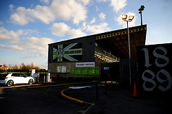 General views - Mandatory by-line: Nizaam Jones/JMP - 27/02/2021 - FOOTBALL - The innocent New Lawn Stadium - Nailsworth, England - Forest Green Rovers v Colchester United - Sky Bet League Two