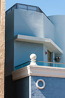 US, Florida, Miami Beach. Art Deco, Collins Ave.