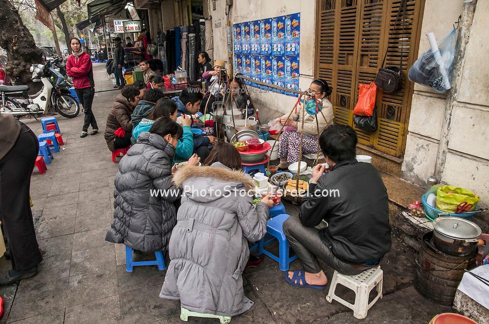 Fresh food at the Morning market, Hanoi, Vietnam