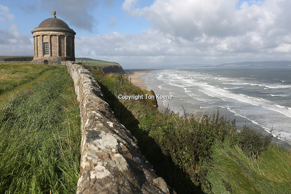 the Mussenden Temple was Commissioned by Earl Bishop Frederick Hervey in 1783.