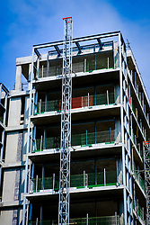 Luxury flats in Quartermile, Lauriston, Edinburgh under construction<br /> <br /> (c) Andrew Wilson | Edinburgh Elite media