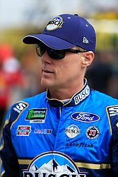 February 22, 2019 - Hampton, GA, U.S. - HAMPTON, GA - FEBRUARY 22: #4: Kevin Harvick, Stewart-Haas Racing, Ford Mustang Busch Beer prior to  first practice for the MENCS Folds of Honor QuikTrip 500 race on February 22, 2019 at the Atlanta Motor Speedway in Hampton, GA.  (Photo by David John Griffin/Icon Sportswire) (Credit Image: © David J. Griffin/Icon SMI via ZUMA Press)
