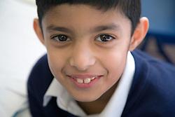 Pupil at the Nottingham Islamia school,