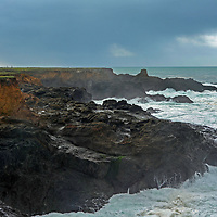 The Point Cabrillo Light Station warns ships away from rocks on the California coast in Mendocino County.