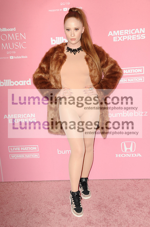 iyla at the 2019 Billboard Women In Music held at the Hollywood Palladium in Hollywood, USA on December 12, 2019.