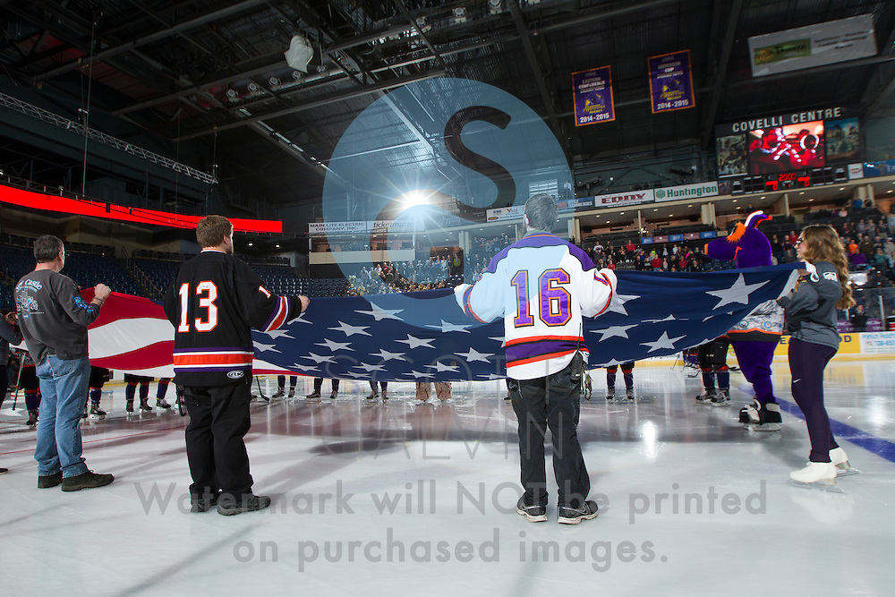 The Youngstown Phantoms defeat Team USA NTDP 3-2 in a shootout at the Covelli Centre on February 18, 2017.