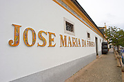 Winery building. JM Jose Maria da Fonseca, Azeitao, Setubal, Portugal