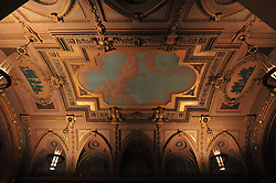 "Well, it's always nice to throw in a nice shot of the ceiling when at Woolsey Hall. I thought I saw my reflection... at ""Century on a Spree: The Whiffenpoof Centennial (1909-2009) Concert"" at Yale University"