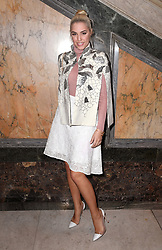 Amber Le Bon at the Julien Macdonald Autumn/Winter 2017 London Fashion Week show at Goldsmiths' Hall, London. Photo credit should read: Doug Peters/ EMPICS Entertainment
