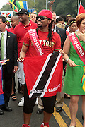 September 3, 2012- Brooklyn, New York:  Soca Recording Artist Machel attends the 45th Annual West Indian Day Labor Day Celebration held on September 3, 2012 along Brooklyn's famed Eastern Parkway. It's one of New York City's most popular parades, a cultural festival that celebrates West Indian history, culture, music and food. Attended by as many as two million people.  (Photo by Terrence Jennings)