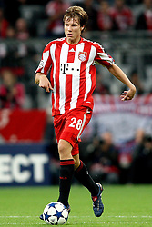 15.09.2010, Allianz Arena, Muenchen, GER, UEFA CL Gruppe E, FC Bayern Muenchen (GER) vs AS Rom (IT), im Bild  Holger Badstuber (Bayern #28) , EXPA Pictures © 2010, PhotoCredit: EXPA/ nph/  Straubmeier+++++ ATTENTION - OUT OF GER +++++ / SPORTIDA PHOTO AGENCY