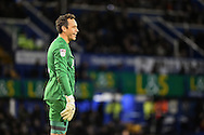 Portsmouth Goalkeeper, David Forde (1) during the EFL Sky Bet League 2 match between Portsmouth and Leyton Orient at Fratton Park, Portsmouth, England on 14 January 2017. Photo by Adam Rivers.