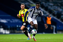 Rekeem Harper of West Bromwich Albion runs with the ball - Mandatory by-line: Robbie Stephenson/JMP - 16/09/2020 - FOOTBALL - The Hawthorns - West Bromwich, England - West Bromwich Albion v Harrogate Town - Carabao Cup