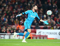 October 31, 2018 - London, England, United Kingdom - London, UK, 31 October, 2018.Blackpool's Mark Howard.During Carabao Cup fourth Round between Arsenal and Blackpool at Emirates stadium , London, England on 31 Oct 2018. (Credit Image: © Action Foto Sport/NurPhoto via ZUMA Press)