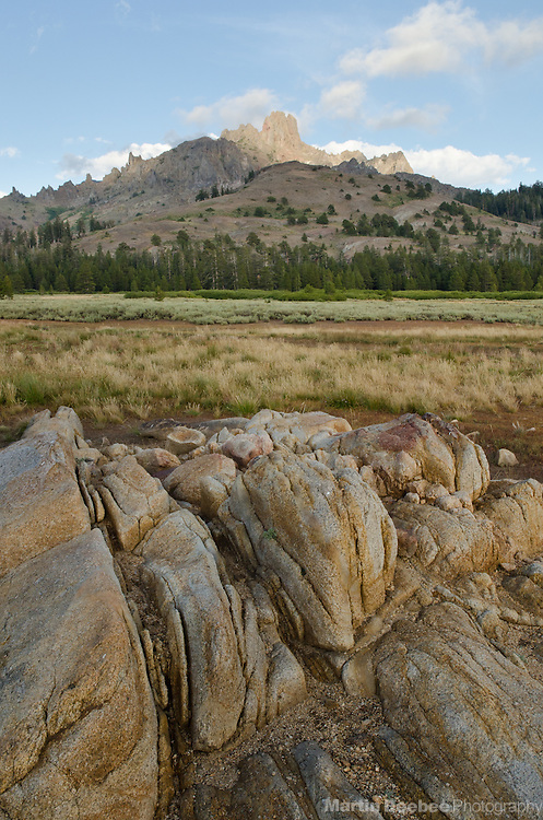 Mountains above Indian Valley, Sierra Nevada, Toiyabe National Forest, California