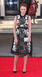 KEELEY HAWES arrives for the BAFTA TV Awards at the Theatre Royal, London, United Kingdom. Sunday, 18th May 2014. Picture by i-Images