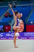Katsiaryna Halkina from Belarus, she was born in Minks in 1997.Halkina went to the 2016 Olympics in Rio de Janeiro obtaining the sixth place
