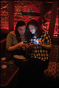 JENNIFER SHERIDAN; EMILY SHERIDAN, Cahoots club launch party, 13 Kingly Court, London, W1B 5PW  26 February 2015