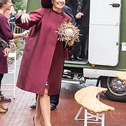 NLD/Amersfoort/20171024 - Streekbezoek Koning Alexander en koningin Maxima aan Eemland, Maxima