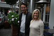 KRISTIN VANSGAARD AND ALESSANDRA DAHL, De Grisogono & Londino Car Rally  setting off from the Bluebird Building. King's Rd. London. 23 August 2007. Car rally which takes drivers through London, France, Switzerland and finally to Portofino .  -DO NOT ARCHIVE-© Copyright Photograph by Dafydd Jones. 248 Clapham Rd. London SW9 0PZ. Tel 0207 820 0771. www.dafjones.com.