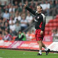 Photo: Lee Earle.<br /> Southampton v Plymouth Argyle. Coca Cola Championship. 16/09/2006. Southampton manager George Burley.