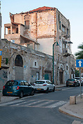 Ottoman Architecture in Jaffa. This soon to be renovated building was built during the Turkish rule in Israel / Palestine